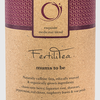 Teasing FertiliTea product