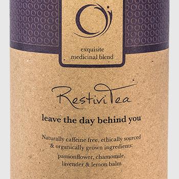 Teasing RestiviTea product