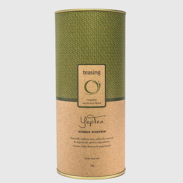 Teasing YepTea product canister