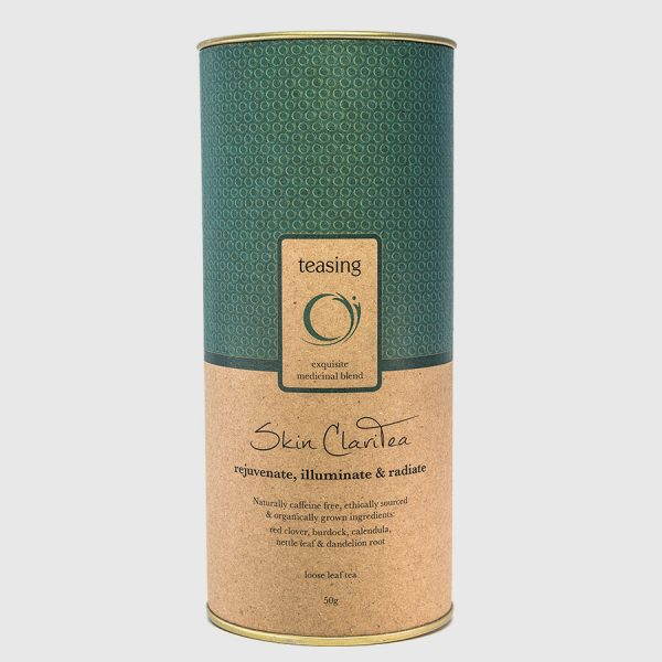 Teasing Skin ClariTea product canister