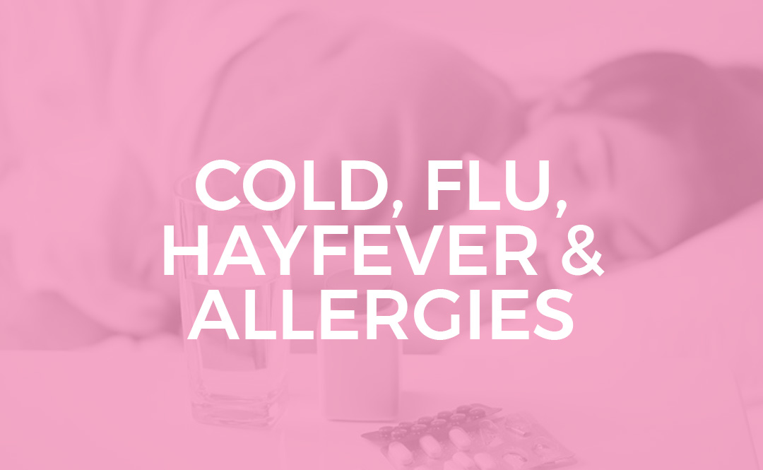 COLD FLU HAYFEVER ALLERGIES