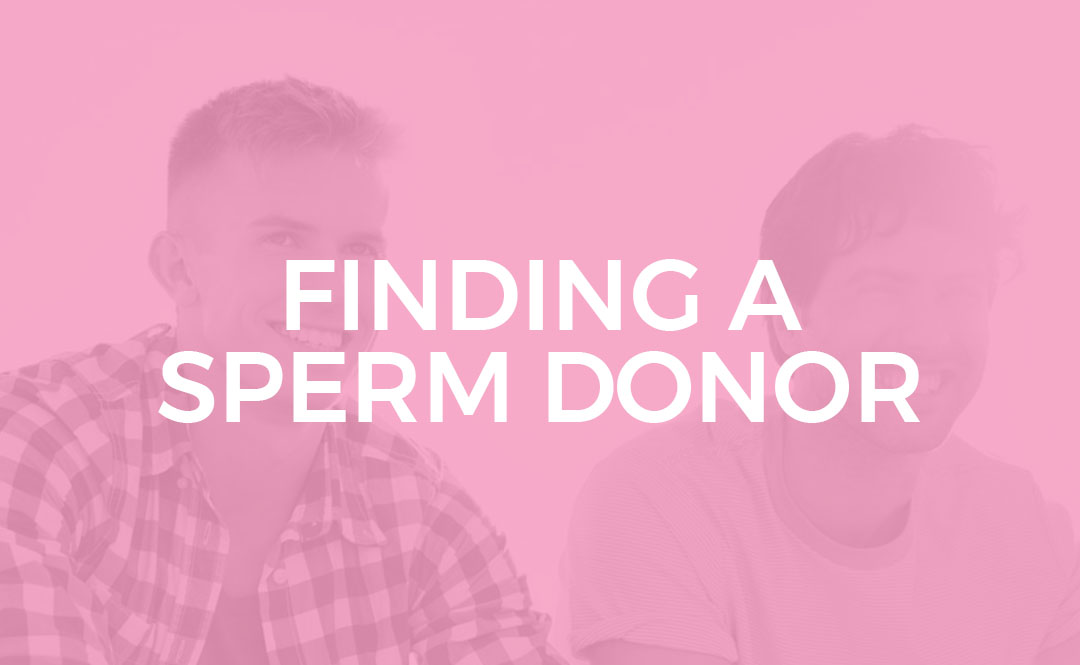 Finding an sperm donor